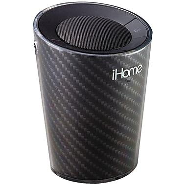 iHome® IDM9GC Portable Cup holder Bluetooth Speaker/Speakerphone, Black