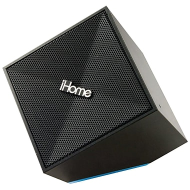 iHome® IDM11B Rechargeable Portable Bluetooth Speaker, Black