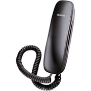 Uniden® 1100 Black Slimline Corded Phone