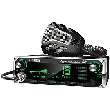 Uniden® Bearcat 880 CB Radio Wirh 7 Color Display Backlighting