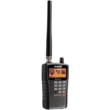 Uniden® BC125AT Black/Charcoal Bearcat Handheld Scanner