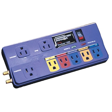 Monster Power® PowerCenter™ 8-Outlet 1480 Joule Surge Suppressor With 8' Cord