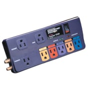 Monster Power® PowerCenter™ 8-Outlet 1300 Joule Surge Protector With Phone/Modem/Fax & Coaxial Protection