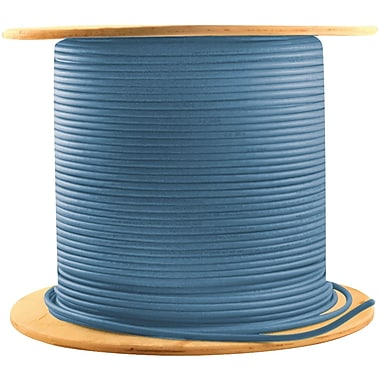 Monster® 1000' CAT-5E Telecom/Data Cable, Blue