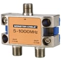 Monster® Standard® 2 Way RF Splitter For CATV Signals MKII