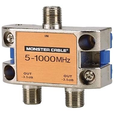 Monster® Standard® 2 Way RF Splitter For CATV Signals MKII