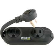 Monster Power® To Go® 3-Outlet Power Strip With 1' Cord
