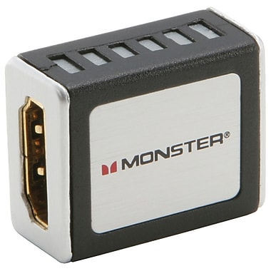 Monster MON140320 HDMI Coupler, Gray