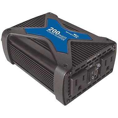 Whistler® PRO 200 W Power Inverter With USB Port