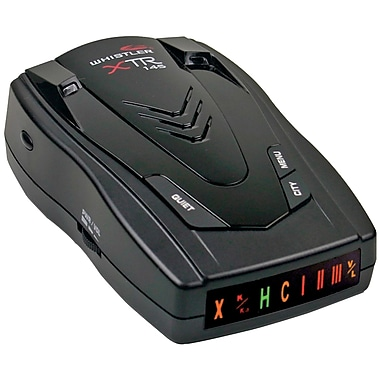 Whistler® Radar/Laser Detector With Low-Profile Periscopes and Easy-to-Read Icon Display, 12 V
