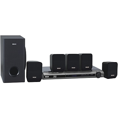 RCA® RTB1016 300 W Home Theater With Blu-ray Player