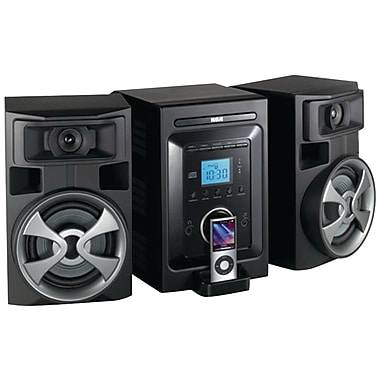 RCA® RS2696I Mini System With Dock For iPod, Black