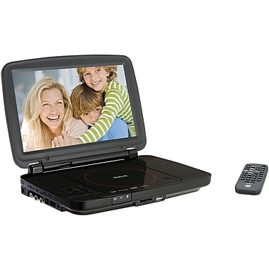 RCA® DRC99310U 10in. Portable DVD Player With USB & SD™ Card Slot