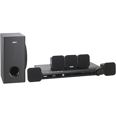 RCA® RTB1016WE 300 W Blu-ray Home Theater With Wi-Fi