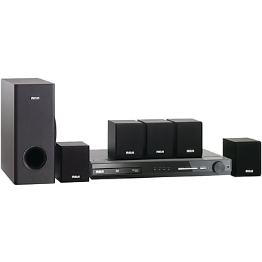 RCA® RTD3133H Home 300 W Theater System With Built in DVD