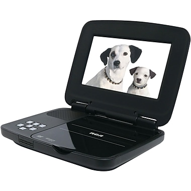 RCA® DRC99373E 7in. Portable DVD Player