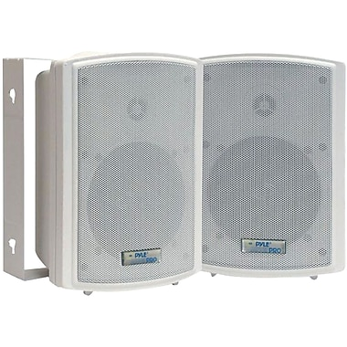 Pyle® PDWR63 Indoor/Outdoor Waterproof on Wall Speaker, White