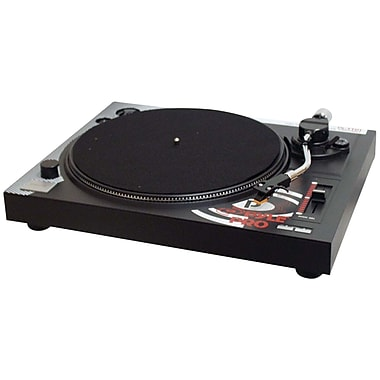Pyle® Pro PLTTB1 Professional Belt-Drive Turntable, 33/45 RPM
