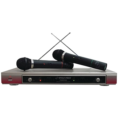 Pyle® Pro PDWM2000 Dual VHF Wireless Microphone System