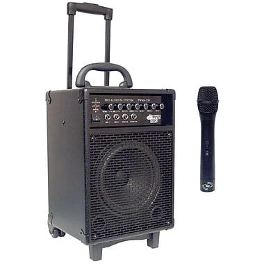 Pyle® PWMA230 Vhf Wireless Battery-Powered PA System, 200 W