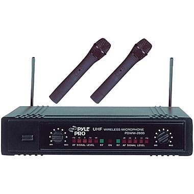 Pyle® Pro PDWM2600 Dual UHF Wireless Microphone System