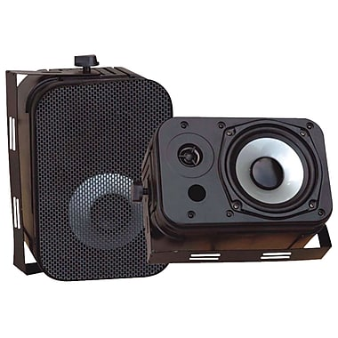 Pyle® PDWR40 Indoor/Outdoor Waterproof Speaker, Black
