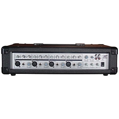 Pyle® PMX801 150 W 4-Channel Powered PA Mixer/Amplifier