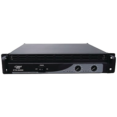 Pyle® PTA3000 Professional 3000 Watt Power Amplifier With Built-in Crossover