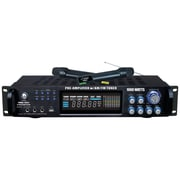 Pyle® Pro PWMA1003T 1000W Hybrid Pre-Amplifier W/AM-FM Tuner/USB/Dual Wireless Mic