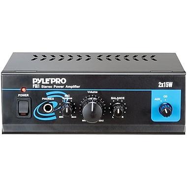 Pyle® Pro PTA1 15W x 2 Mini Stereo Power Amplifier