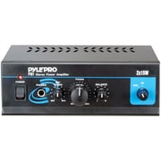 Pyle® Pro PTA1 15W x 2 Mini Stereo Power Amplifier
