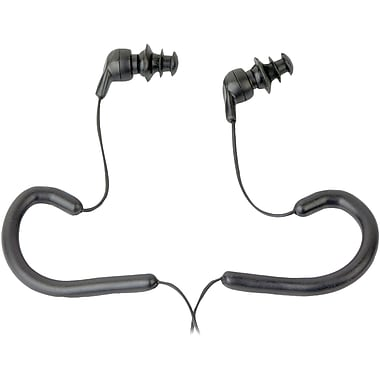 Pyle WPE10B Waterproof Marine Headphone Earbud, Black