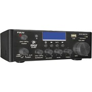 Pyle® Pro® PVA3U 60 W Hi-Fi Mini Stereo Amplifier With USB/SD Card Player