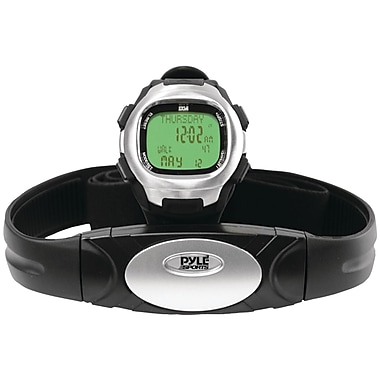 Pyle® Marathon Heart Rate Watch With USB And Walking/Running Sensor