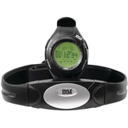 Pyle® Advance Heart Rate Watch With Walking/Running Sensor, Training Zones, And Calorie Counter