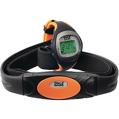 Pyle Heart Rate Monitor Watch With Maximum/Average