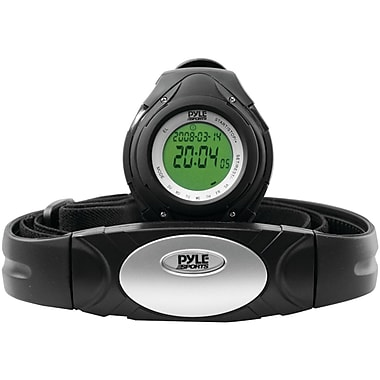 Pyle® Heart Rate Monitor Watches With Minimum, Calorie Counter, and Target Zones