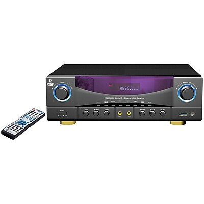 Pyle Home PT980AUH 7.1-Channel 350 Watt Amplifier AM/FM Receiver