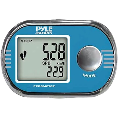 Pyle® Pedometer personalized calibration For walking And running
