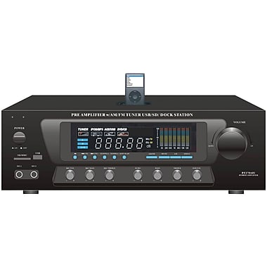 Pyle® Home PT270AiU 30 Watt Stereo AM/FM Receiver With ipod Dock