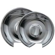 Range Kleen® 2 Pack Style E Chrome Drip Pans