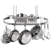 Range Kleen® Stainless Steel Oval Hanging Pot Rack
