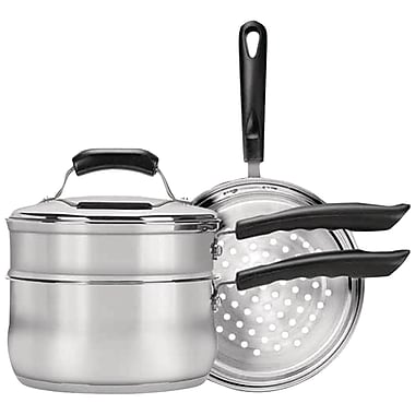 Range Kleen® 3 Quart Saucepan Steamer/Double Boiler