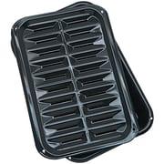 Range Kleen® 2 Piece Porcelain Broil 'n Bake Pan, Black