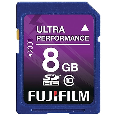 Fujifilm 8GB SDHC (Secure Digital High-Capacity) Class 10 Flash Memory Card