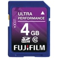 Fujifilm 4GB SDHC (Secure Digital High-Capacity) Class 10 Flash Memory Card