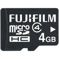 Fujifilm 4GB microSDHC (Micro Secure Digital High-Capacity) Class 4 Flash Memory Card