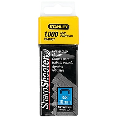 STANLEY® 3/8in. Heavy Duty Staples