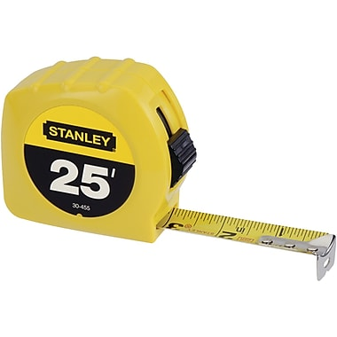 STANLEY® Tape Rule, 25 ft L x 1in. W
