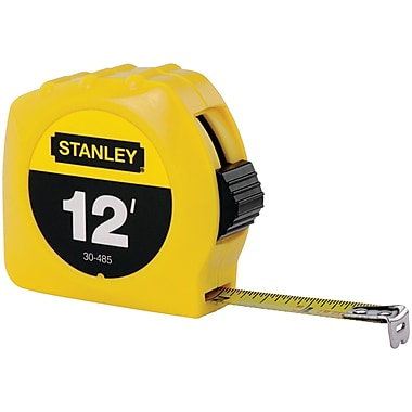 STANLEY® Tape Rule, 12 ft L x 1/2in. W